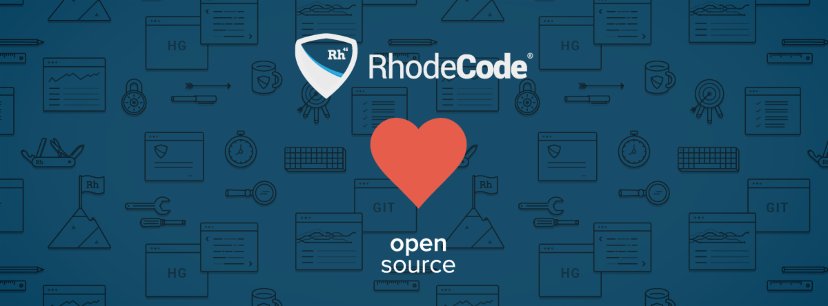 rhodecode heart open source