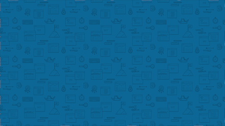 RhodeCode Wallpaper Blue